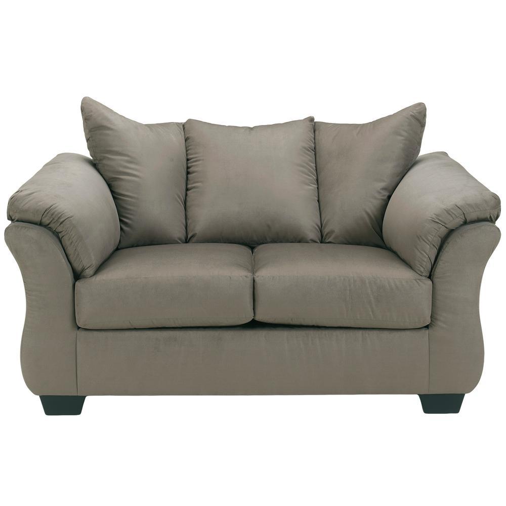 Flash Furniture Signature Design By Ashley Darcy Cobblestone Fabric