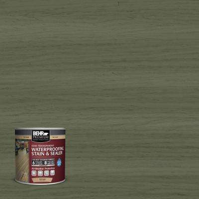 #ST-138 Sagebrush Green Semi-Transparent Weatherproofing Wood Stain
