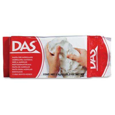 Air Hardening Clay, White