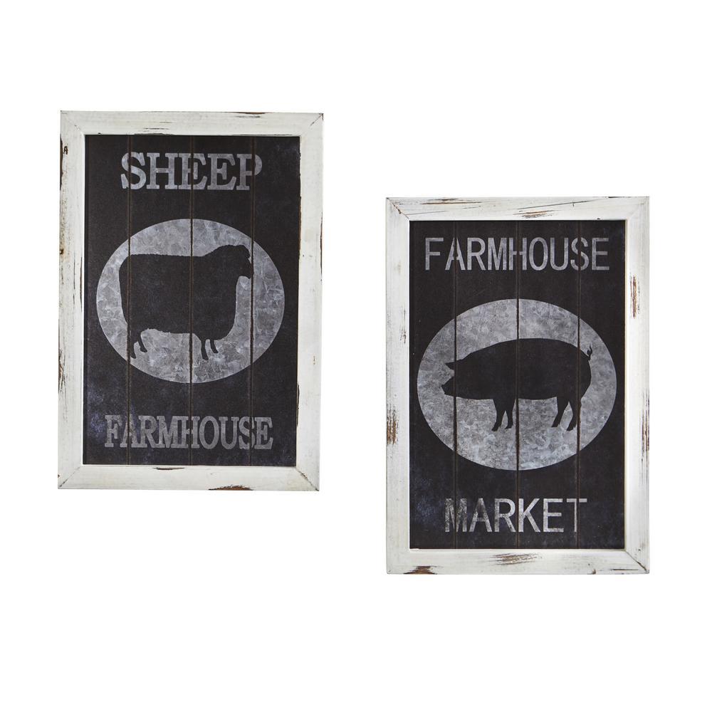Farm to Table Wall Decor (Set of 2)