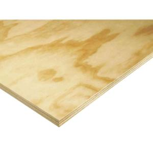 Pine Plywood (Common: 23/32 in. x 4 ft. x 8 ft.; Actual: 0.688 in. x 48 in. x 96 in.)