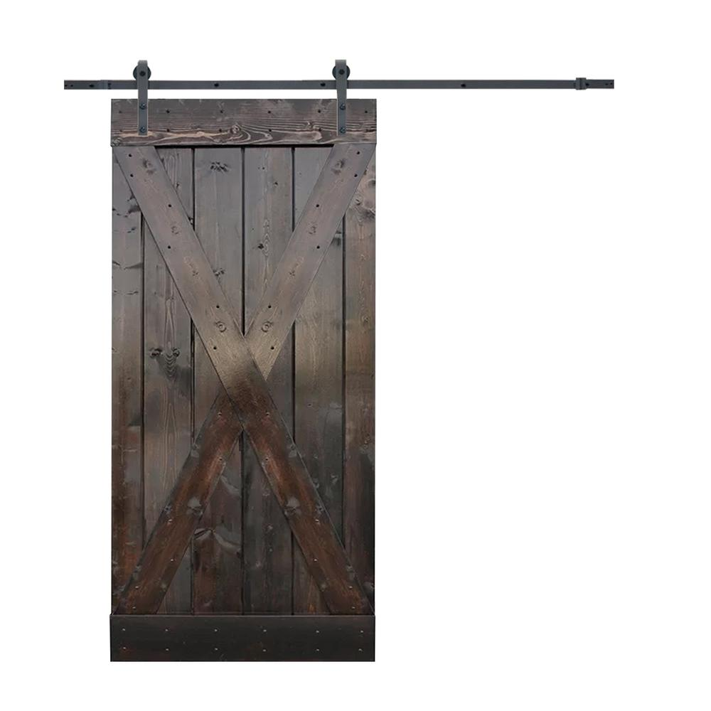 Steel Barn Doors Interior Closet Doors The Home Depot