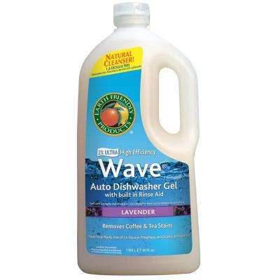 40 oz. Squeeze Bottle Lavender Scent Wave Gel Dishwasher Detergent