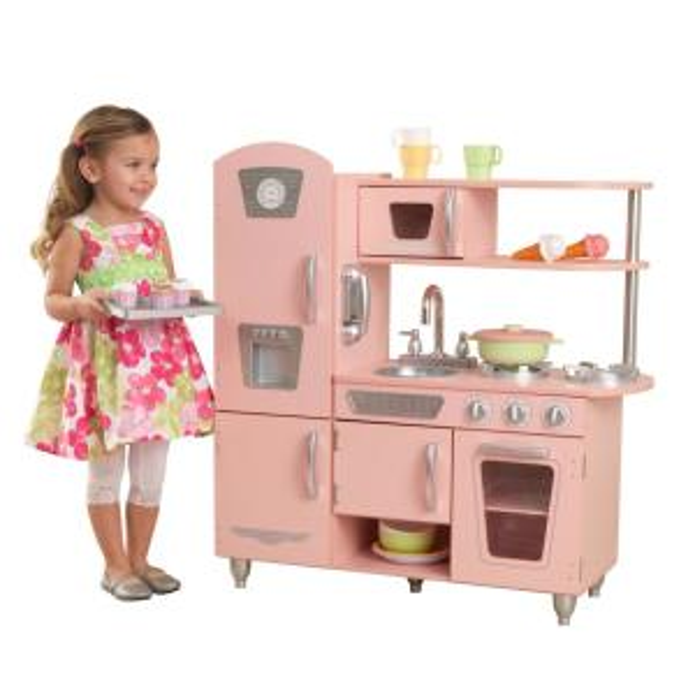 Pink Vintage Kitchen Playset