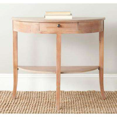 Alex Red Maple Storage Console Table