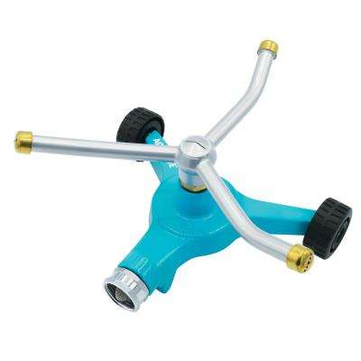 8 in. 360-Degree Indestructible 3-Arm Zinc Rotary Sprinkler