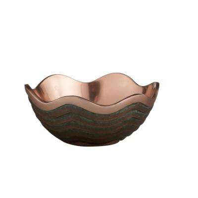 Copper Canyon 7 in. Alloy Bowl