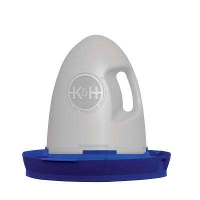 2.5 Gal. Blue Poultry Waterer