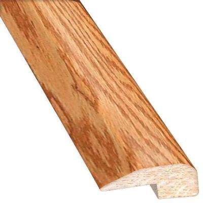 Oak Golden 0.88 in. Thick x 2 in. Wide x 78 in. Length Hardwood Carpet Reducer/Baby T-Molding