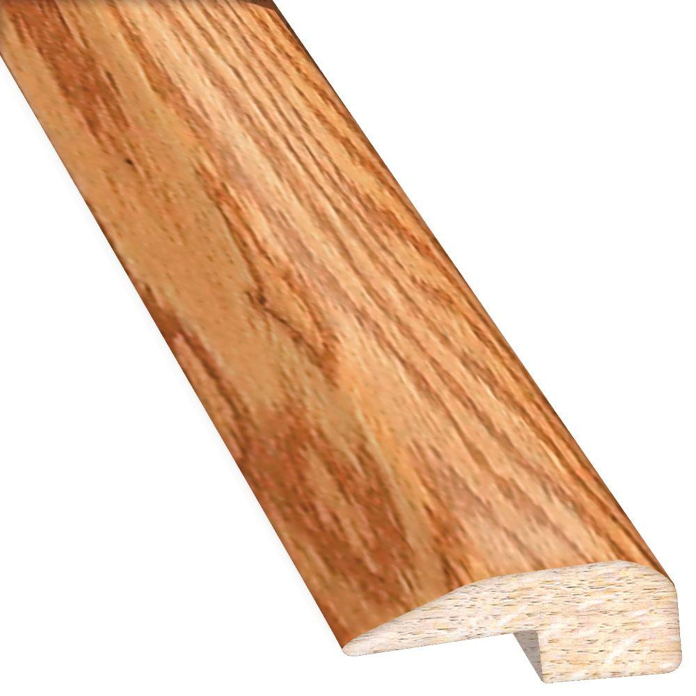 Heritage Mill Oak Golden 0.88 in. Thick x 2 in. Wide x 78 in. Length Hardwood Carpet Reducer/Baby T-Molding