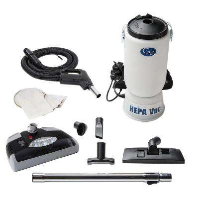6 qt. Backpack HEPA Vacuum Cleaner with Power Head