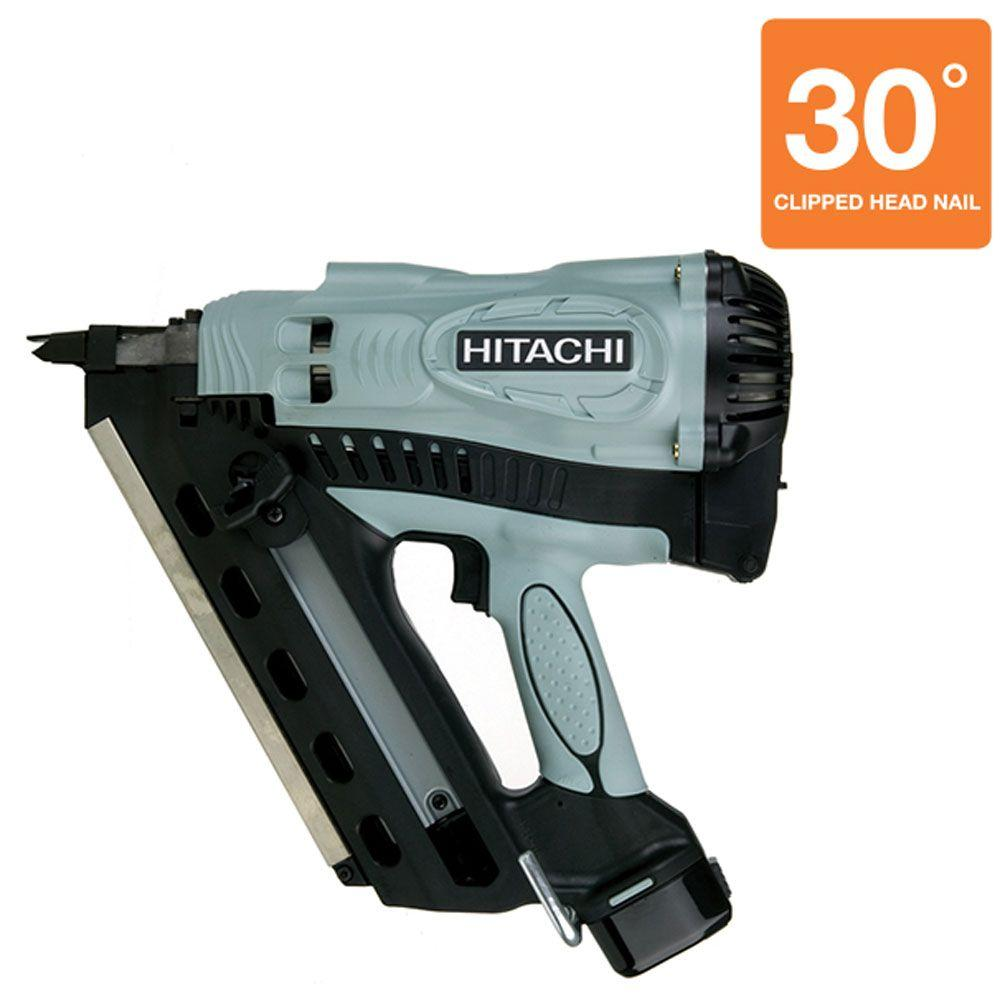 Hitachi 3-1/2 in. Cordless Gas Powered Clipped Head Framing Nailer
