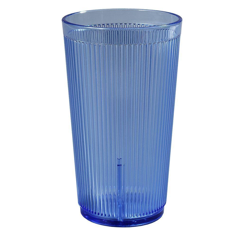 Carlisle 16 oz. SAN Plastic Tumbler in Blue (Case of 48) by Carlisle