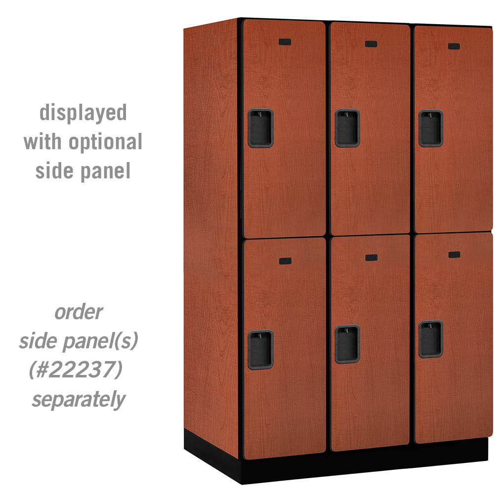 22000 Series Double Tier 24 in. D 6 Compartments Extra Wide