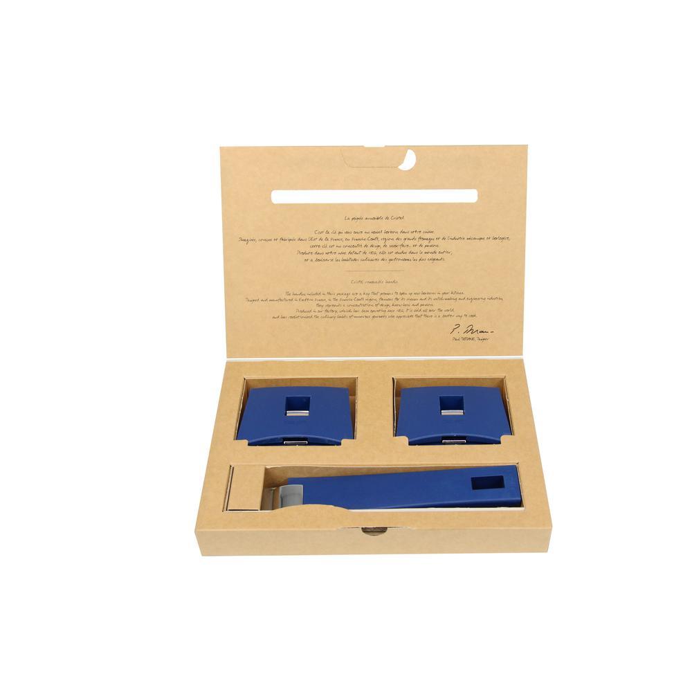 Mutine 3-Piece Blue Ink Handles