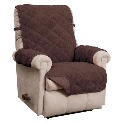 Hudson Waterproof Recliner Furniture Cover Chocolate