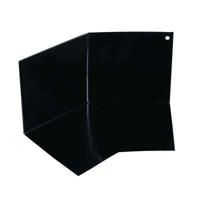 4 in. x 8 in. Black Aluminum Kickout Diverter Flashing