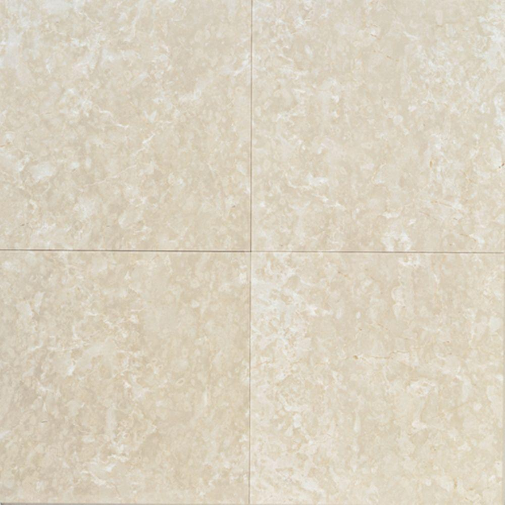 Daltile Natural Stone Collection Botticino Fiorito 12 In X Marble Floor And