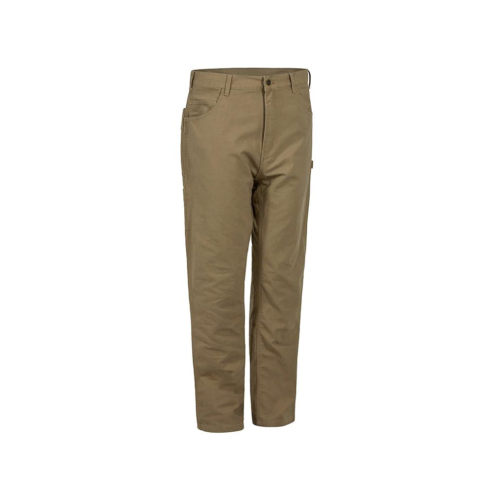 20d1bb16 Berne Men's 30 in. x 31 in. Putty Cotton and Polyester Ripstop Cargo ...