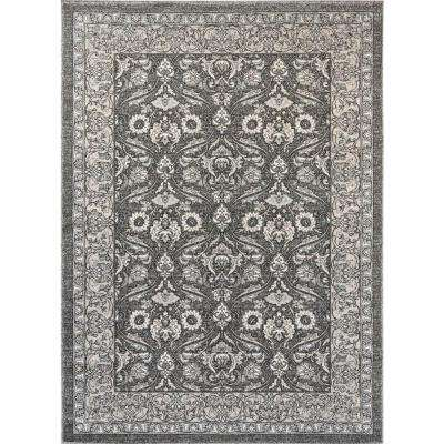 Kensington Gray 7 ft. 10 in. x 10 ft. 3 in. Indoor Area Rug