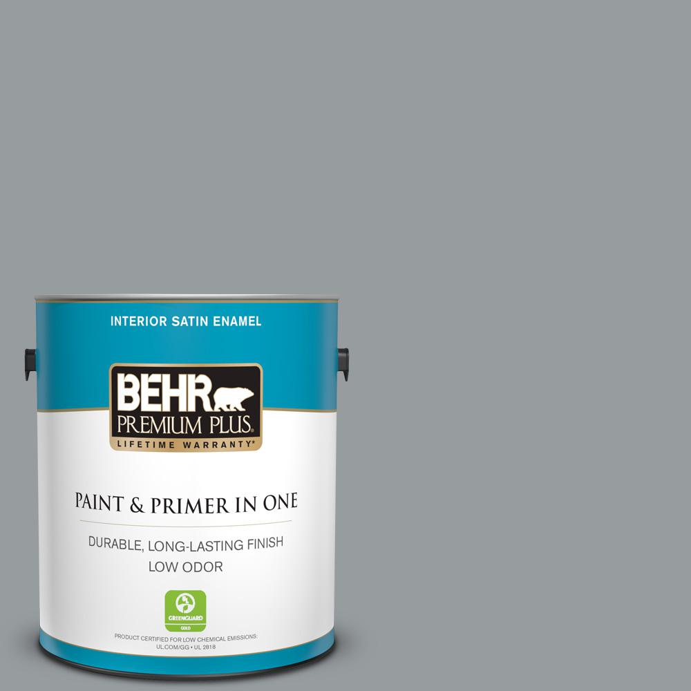 N500 4 pencil sketch satin enamel low odor interior paint and primer in one