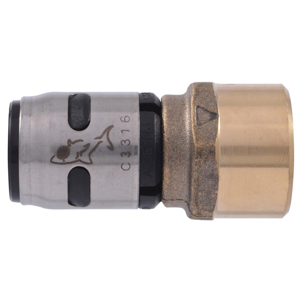 1/2 in. Push-to-Connect EVOPEX x FIP Brass Adapter Fitting (6-Pack)