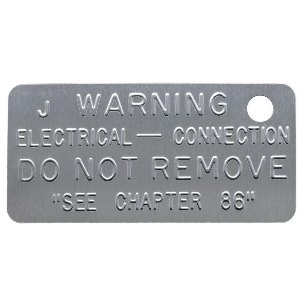 Blackburn Grounding Code Tag (50-Pack)