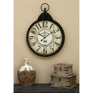 Click here to buy  28 inch x 20 inch Metal Wall Clock.