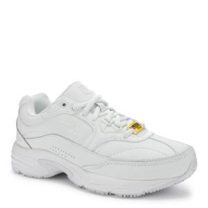 cfe5058c Fila Memory Workshift Women Size 6.5 White Leather/Synthetic Soft ...