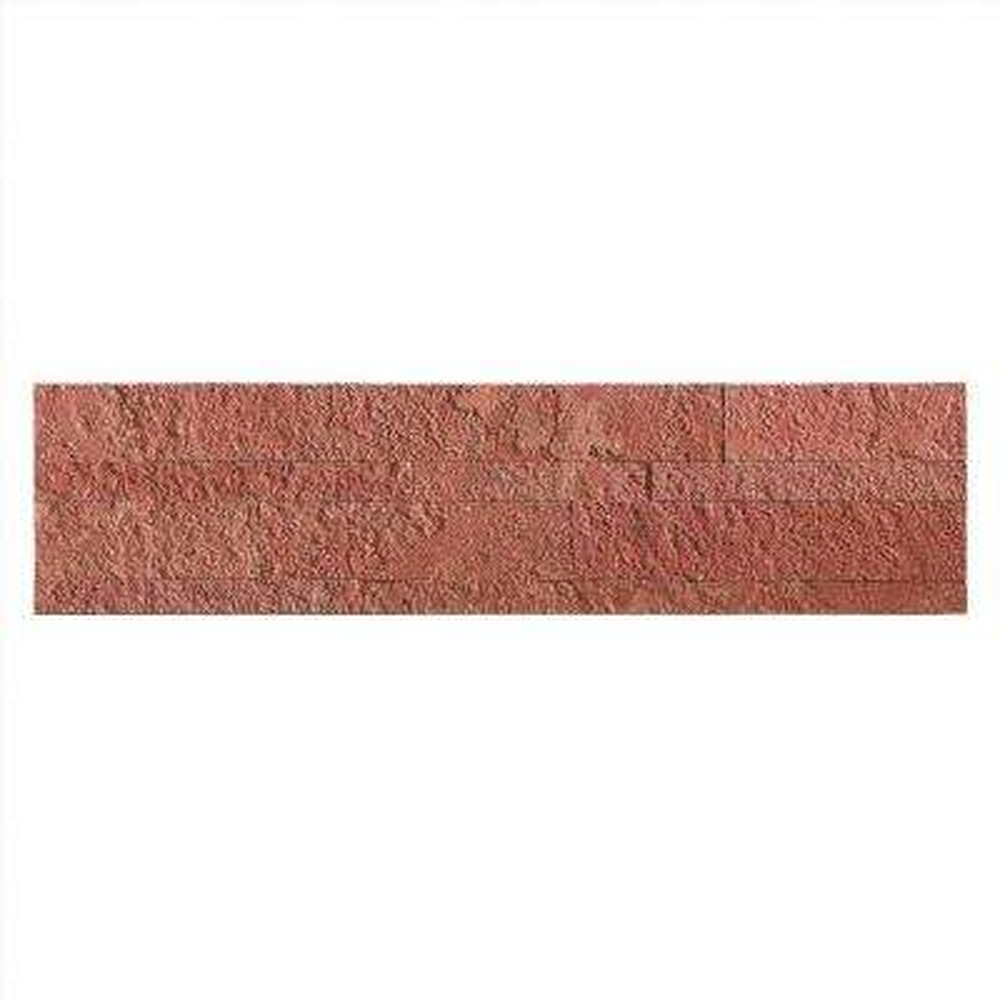 24 in. x 6 in. Peel and Stick Stone Backsplash in Autumn Sandstone