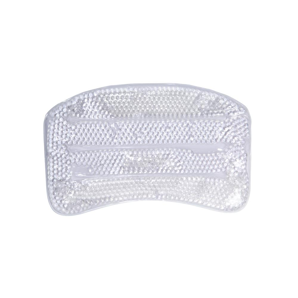 Bath Bliss Suction Cup Bath Pillow with Gel Beads