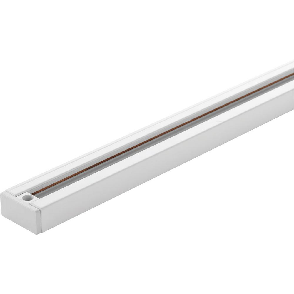 white linear track lighting. Progress Lighting LED Track Collection White Linear Section