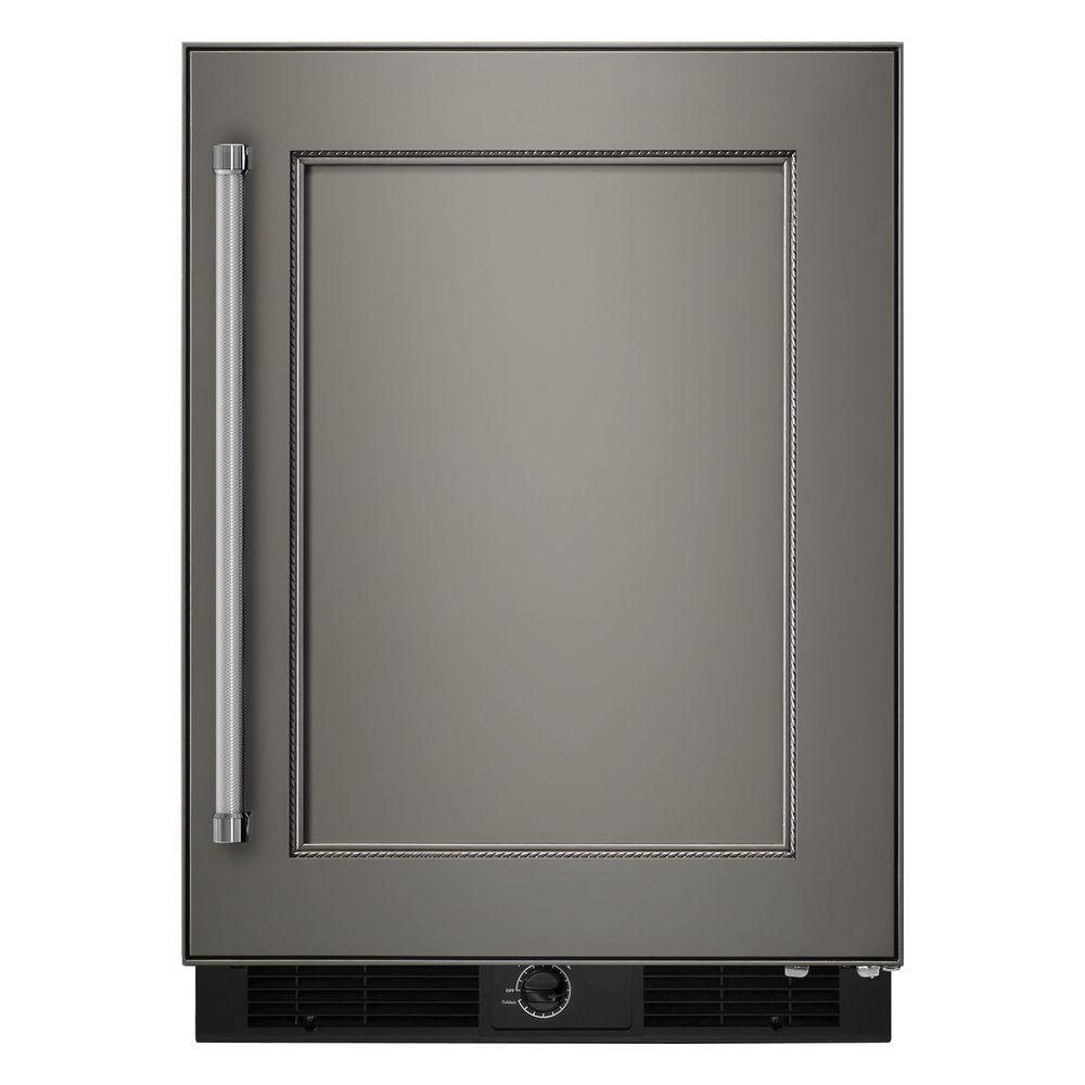 Kitchenaid 24 In W 5 1 Cu Ft Undercounter Refrigerator: IGLOO 1.6 Cu. Ft. Mini Refrigerator In Stainless Steel