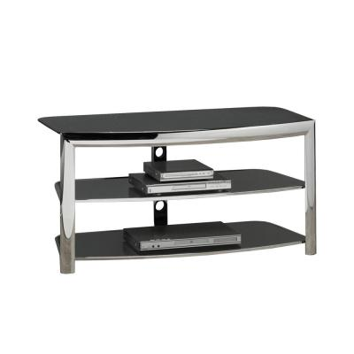 Tv Console Silver Stands Living Room Furniture