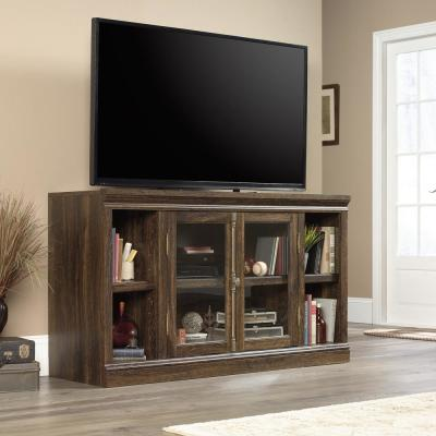 Barrister Lane Iron Oak 2-Door Entertainment Center