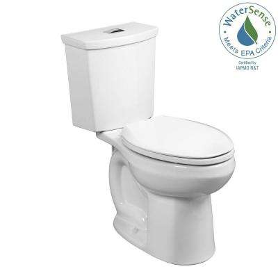 H2Option Right Height 2-piece 0.92/1.28 GPF Dual Flush Elongated Toilet in White