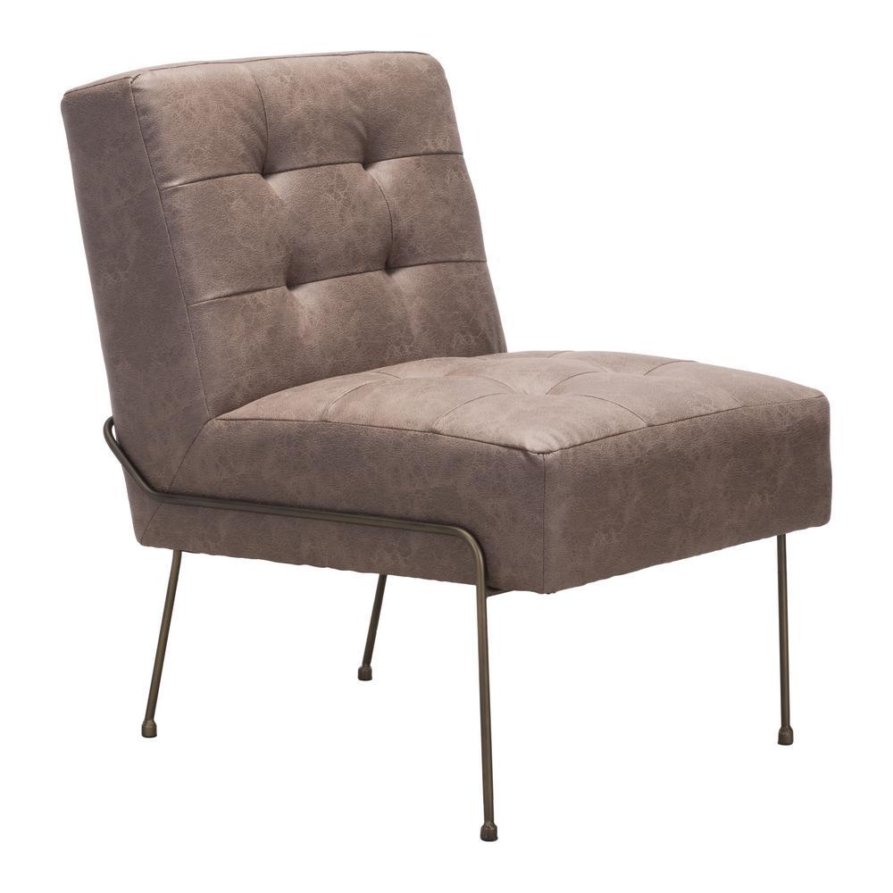 Reid Vintage Espresso Occasional Chair