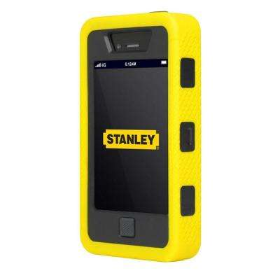 Dozer iPhone 4 and 4S Rugged 3-Piece Smart Phone Case Black and Yellow