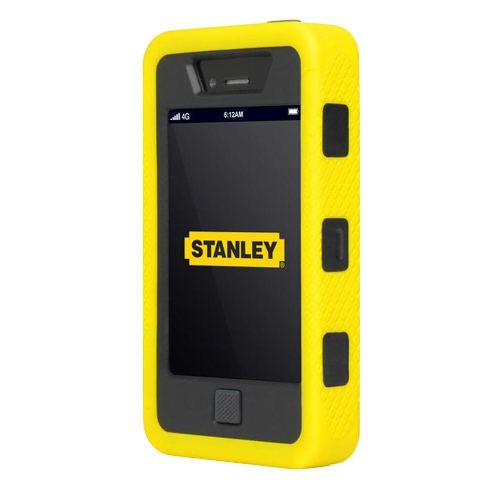 Stanley Dozer Iphone 4 And 4s Rugged 3 Piece Smart Phone Case Black Yellow