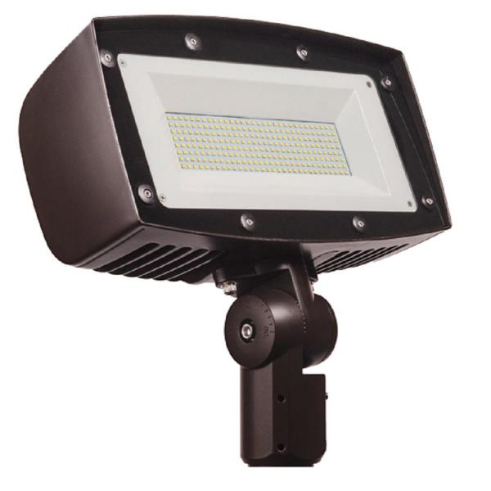 1110-Watt Equivalent Integrated Outdoor LED Flood Light, 16500 Lumens, Dusk to Dawn Outdoor Security Light