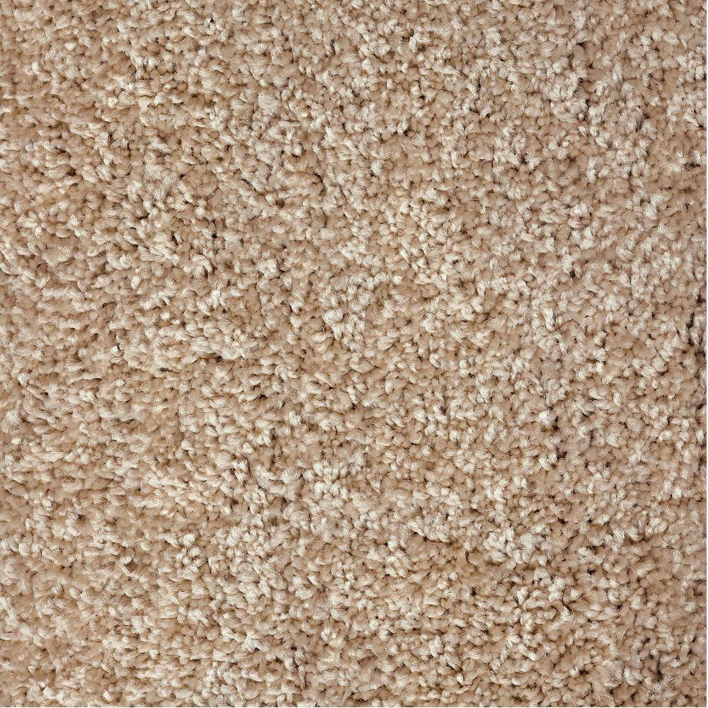 Simply Seamless Posh 03 Pale Straw 24 in. x 24 in. Residential Carpet Tiles (10-Case)