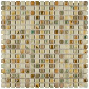 Merola Tile Rustica Mini Springfield 12 In X 12 In X 8 Mm Porcelain Mosaic Tile Fcp96rsf The