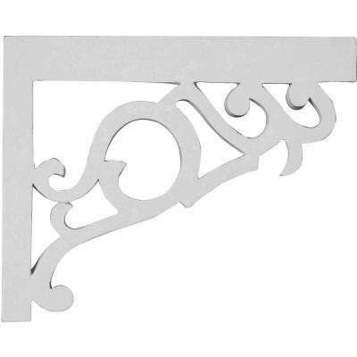 3/4 in. x 8-3/4 in. x 7-1/8 in. Polyureethane Right Victorian Stair Bracket