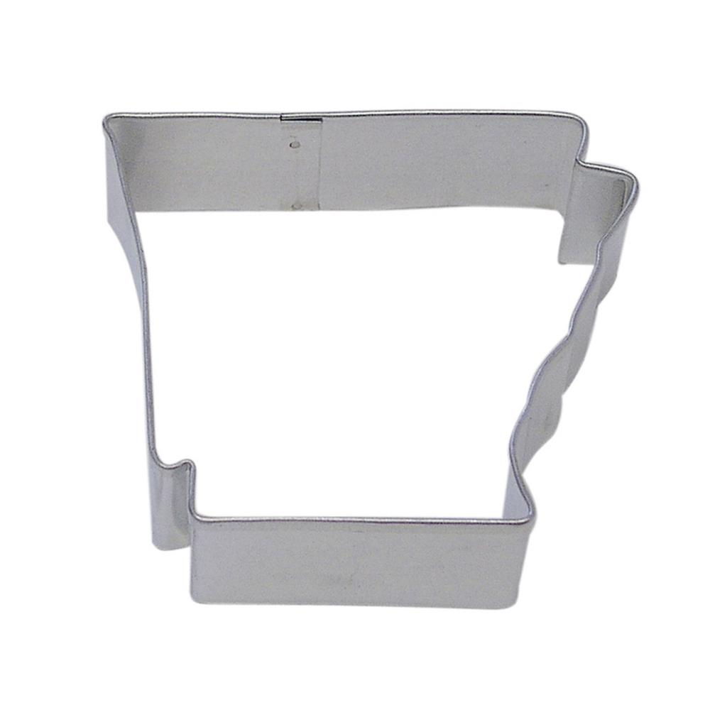 b3ad4a840ae5 CybrTrayd 12-Piece Arkansas State Tinplated Steel Cookie Cutter   Recipe-RM-1403-12LOT  - The Home Depot