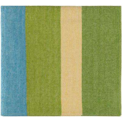 Marello Lime Cotton Throw