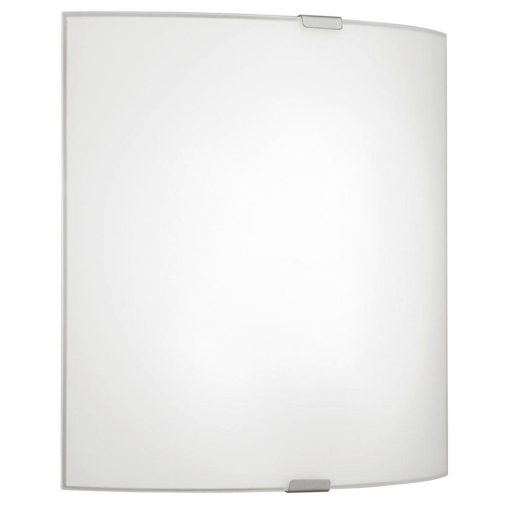 Grafik 1-Light Matte Nickel Wall/Ceiling Surface Mount Light