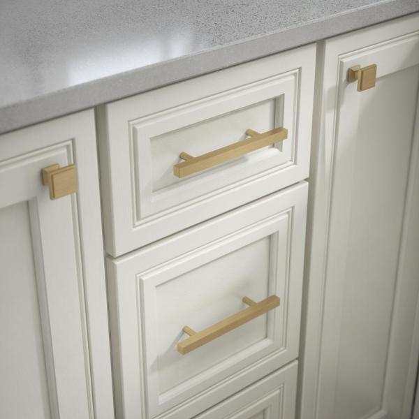 Champagne Bronze Bar Drawer Pull, Home Depot Hardware For Cabinets And Drawers