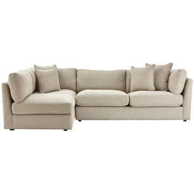 Griffith Sugar Shack Putty 2 Piece Sectional