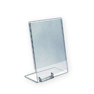 8.5 in. W x 11 in. H L-Shape Sign Holder with Business Card (10-Pack)