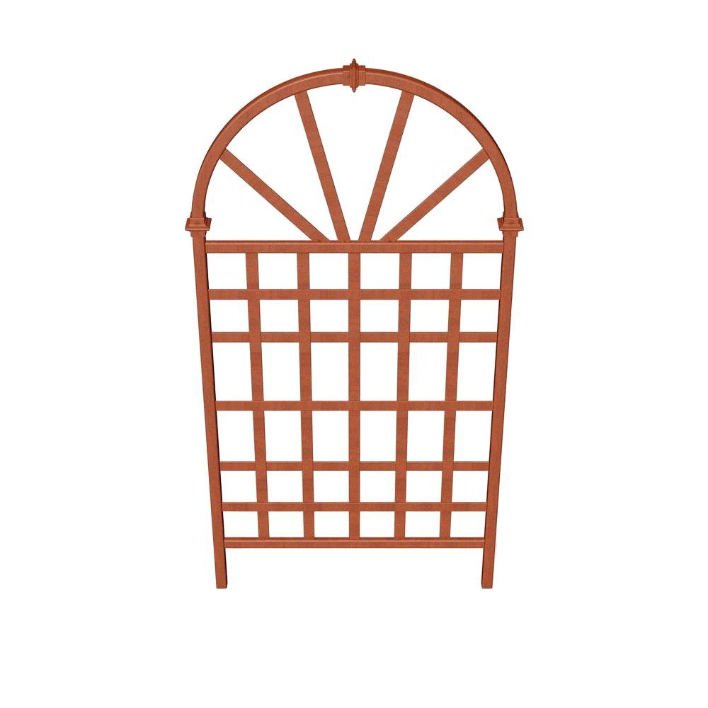Savannah 72.25 in. Composite Trellis